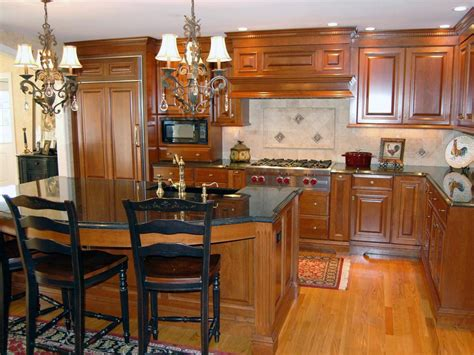 traditional kitchens with islands granite countertop colors hgtv