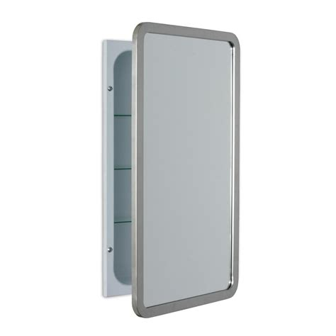 20 x 30 medicine cabinet pegasus 20 in w x 30 in h recessed or surface mount oval