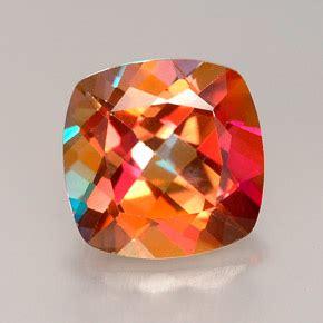 Azotic Mystic Topaz azotic topaz 2 7 carat cushion from brazil gemstone