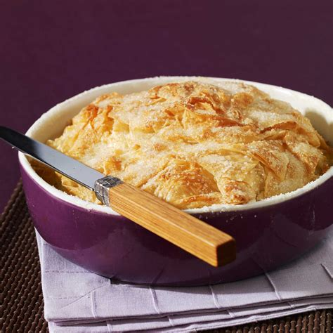 recette de cuisine facile dessert croustade aux pommes facile recette sur cuisine actuelle