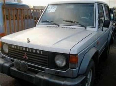 free car manuals to download 1987 mitsubishi pajero electronic valve timing 1987 mitsubishi pajero for sale 2400cc diesel manual for sale