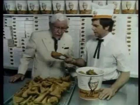 actors in kentucky fried chicken commercials 1970s kentucky fried chicken commercial youtube