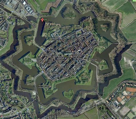 naarden netherlands map naarden netherlands a fort in a location