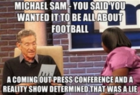 Michael Sam Memes - michael sam meme guy