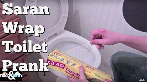 youtube funny bathroom prank saran wrap toilet prank youtube