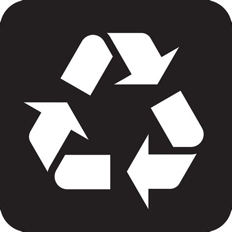 recycle signs free vector free psd vector icons