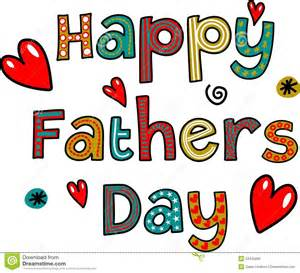 happy fathers day text stock illustration image 53425890