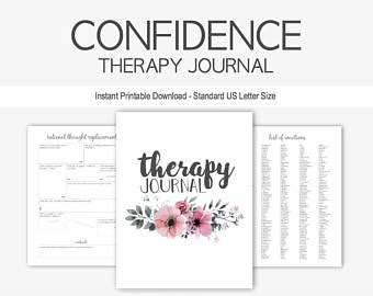 therapy journal therapy journal for mental health struggles depression