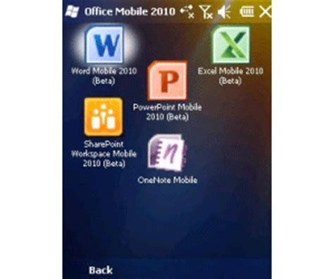 Ms Office Mobile Microsoft Office Mobile Pocket Pc