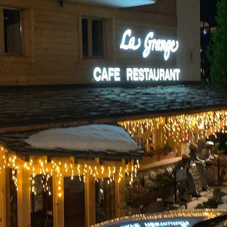 La Grange Verbier by Restaurant La Grange Verbier Route De Verbier Station