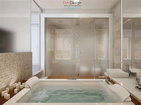 Luxurious Modern Cottage With Rich Warm Textures Modern Cottage Bathroom