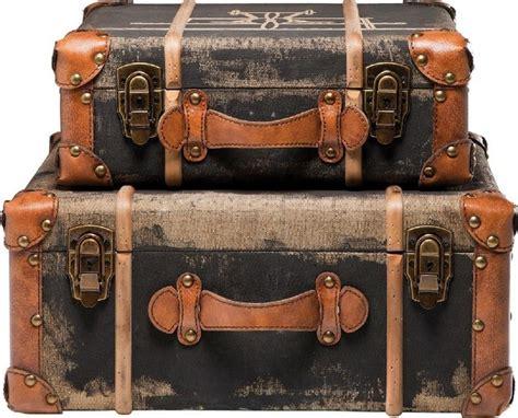 deko truhen und schränke deko koffer aviation 2 set modern deko koffer deko