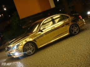Car Painting Deals In Dubai Gold C63 From Where Else Dubai 187 Autoguide News