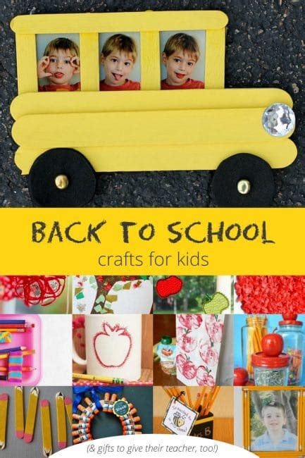 back to school crafts for back to school crafts and gifts on as we grow