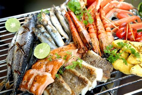 Bbq Seafood Dinner Buffet At Harbour Plaza 8 Degrees Sea Food Buffet