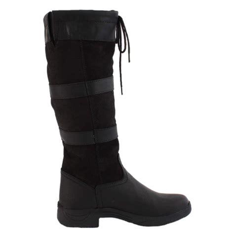 dublin river boots black redpost equestrian
