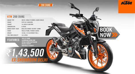 Knalpot Ktm Duke 200 Ktm Duke 250 250 Rc Two Titan Slipon Pnp all new ktm 390 duke 250 duke and 200 duke launched