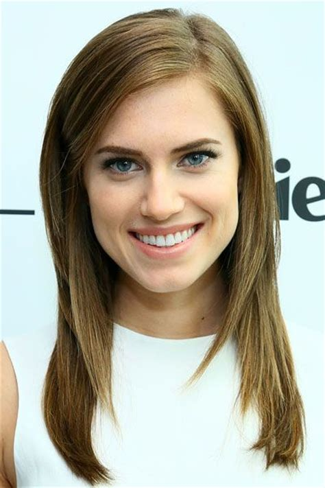 flattering hairstyles for oblong faces allison williams oval faces and her hair on pinterest