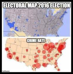 maps show high crime rates where democrats vote snopes