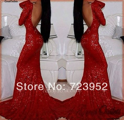 ap113 sparkly prom dresses 2016 sleeves open back mermaid fitted sequin evening