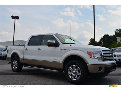 2013 oxford white ford f150 lariat supercrew 4x4 85642518 gtcarlot car color galleries