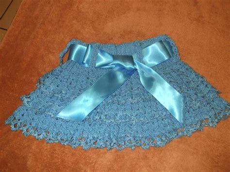 faldas de crochet para nina falda en crochet para ni 241 a vestidos de bebe tejidos