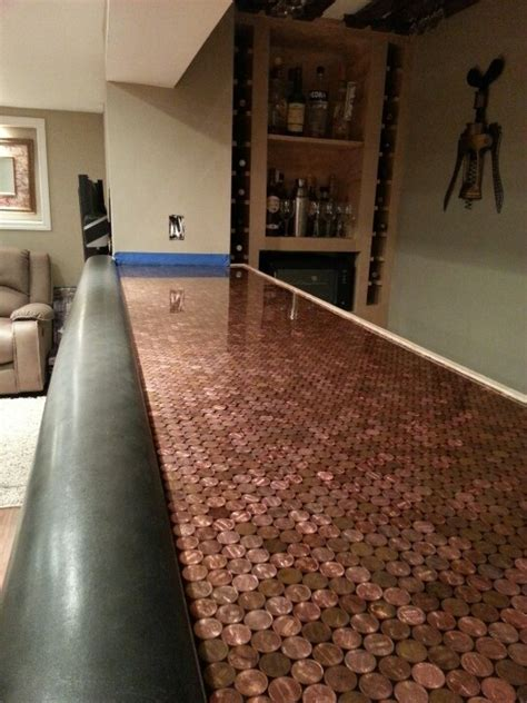 penny top bar interesting play on the copper bar top bars pinterest