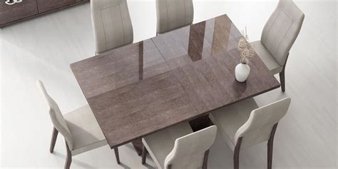 100 modern style dining room furniture chair italian italy made prestige extendable walnut dining table boston