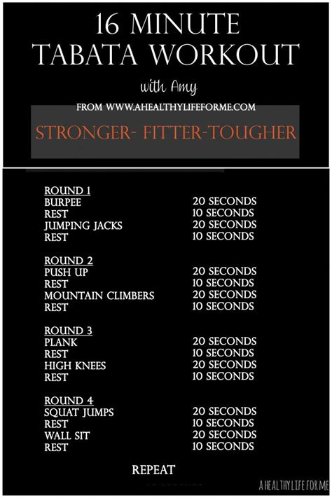 best tabata best 25 tabata workouts ideas on tabata