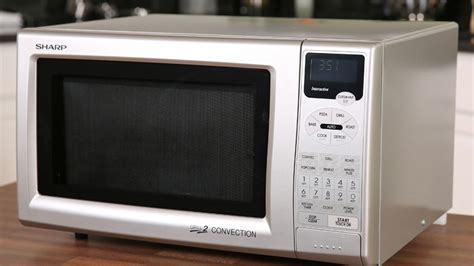 Microwave Grill Sharp sharp r 820js convection grill microwave oven review cnet