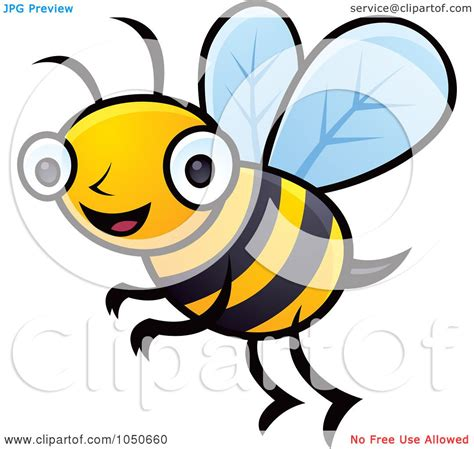free clipart no copyright royalty free rf clip illustration of a happy honey