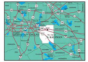 kaufman area map