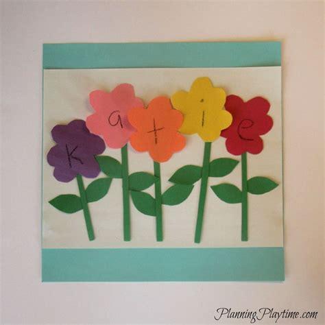 preschool craft ideas name projects for preschoolers www imgkid the