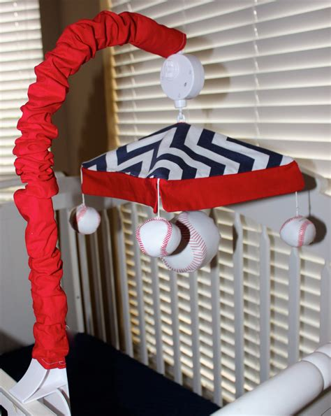 Baseball Mobile For Crib by Musical Crib Mobiles Custom Made Baseball Or To By