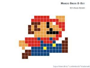 Pixelated Mario Characters 8 Bit Pixel Mario Bros For Powerpoint