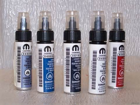 Jeep Touch Up Paint Chrysler Dodge Jeep Touch Up Paint Code Pbq Ebay