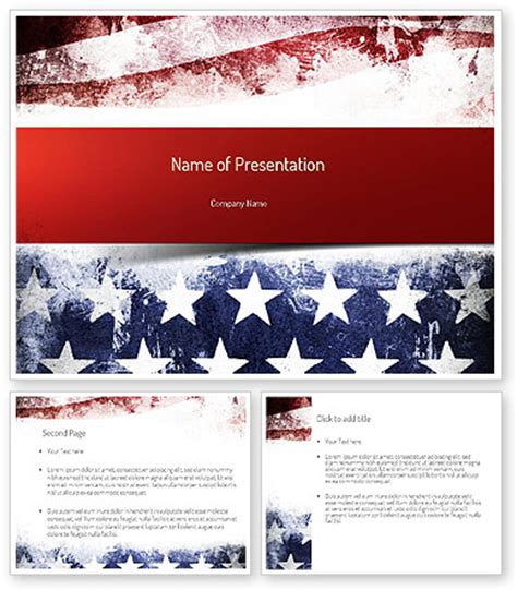 Powerpoint Template With American Flag Gallery Powerpoint Template And Layout American Powerpoint Templates