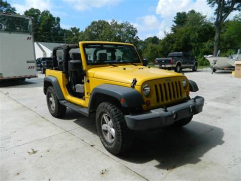 Used Jeeps In Pa Buy Used 2007 Jeep Wrangler In Collegeville Pennsylvania