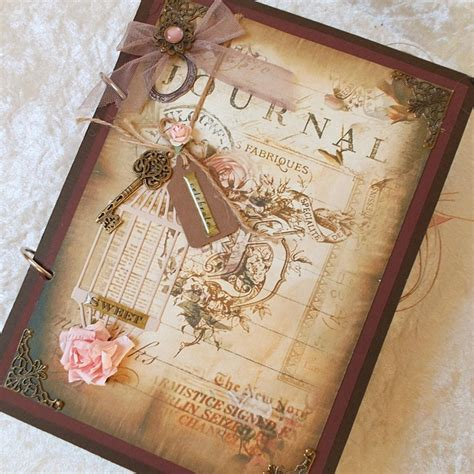 Wedding Album Journal by Wedding Guest Book Album Journal Scrapbook Vintage