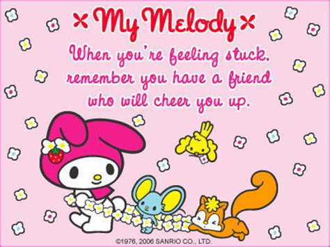 My Melody Birthday Card My Melody E Card My Melody Photo 2712111 Fanpop