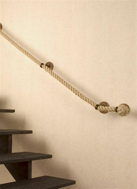 rope banisters for stairs rope handrail inspiration the cavender diary