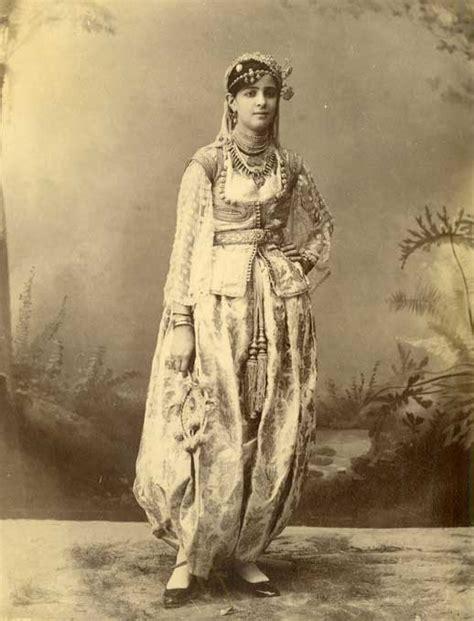 femme ottomane les costumes des femmes alg 233 riennes d autrefois l