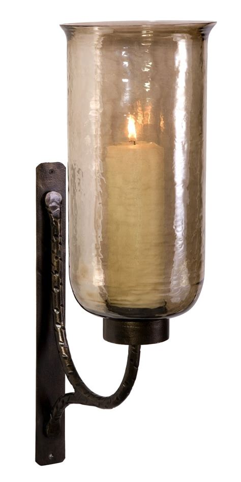 Large Wall Sconces Candles large luster glass candle wall sconce faves lanterns