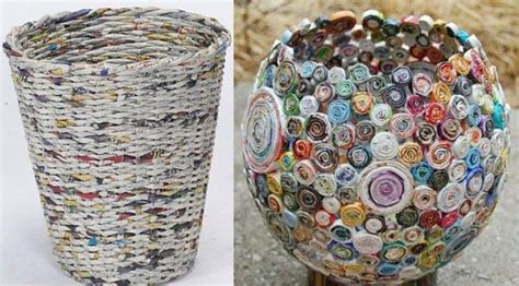 cara membuat kerajinan tangan sederhana dari koran macam macam kerajinan tangan dari barang bekas yang mudah