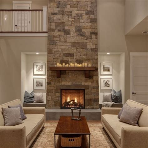 high ceiling fireplace redo design board