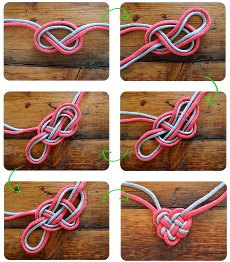 Two String Knots - diy celtic knot necklaceapplepins