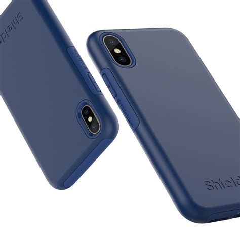 iphone p 10 shieldon iphone xs iphone x middle blue for apple iphone x iphone 10 plateau series