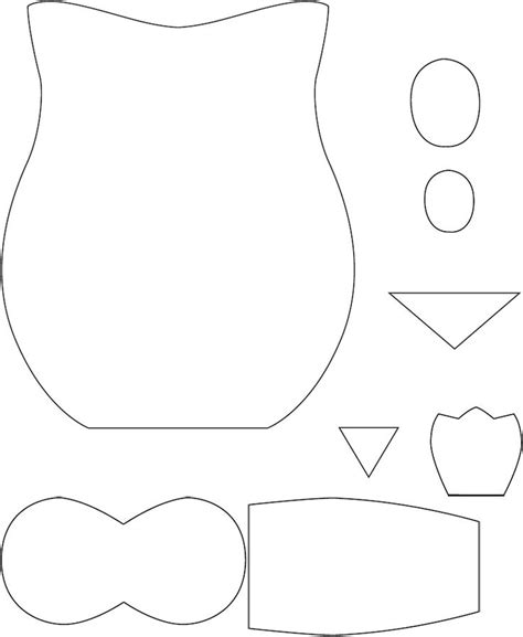 printable owl template for sewing 269 best primitive printables images on pinterest