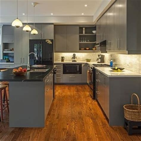 grey wood kitchen cabinets grey kitchen cabinets with grey wood flooring gray