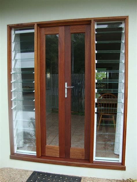 Front Doors And Windows Louvre Windows With Bifolds Search Basement Ideas The Doors